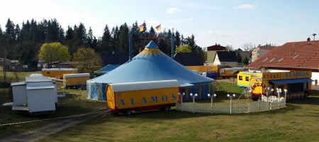 Circus Alamos 2015 in Fürstenberg/Havel